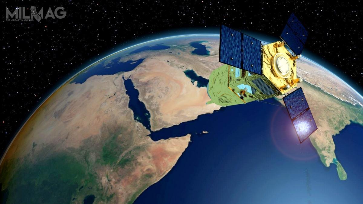 Start drugiego satelity FalconEye-2 nastąpił  w49. Narodowy Dzień ZEA / Grafika: Airbus Defence and Space
