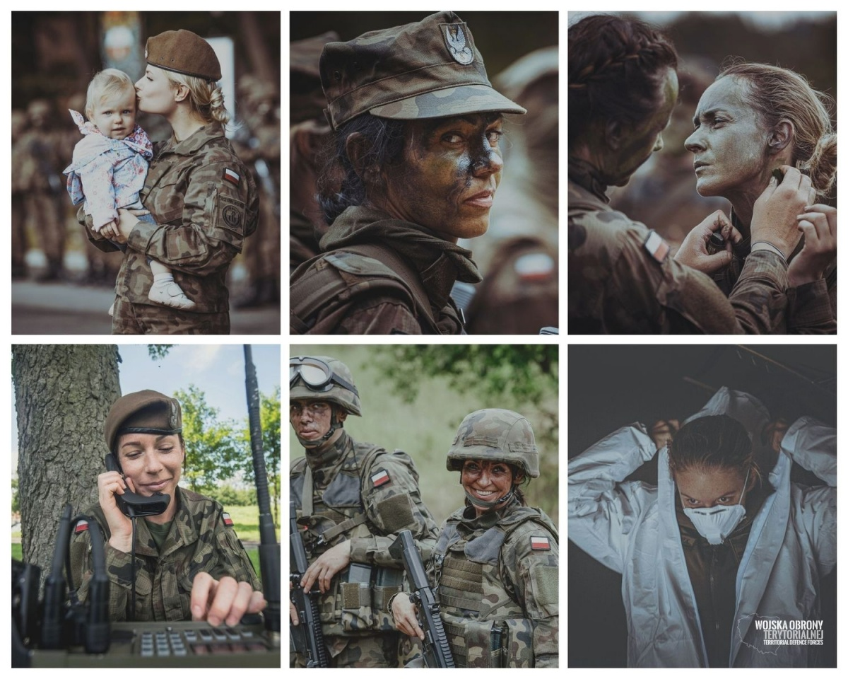 Z okazji Dnia Kobiet, Dowództwo Wojsk Obrony Terytorialnej przedstawiło statystyki dotyczące służby przedstawicielek płci pięknej wtejformacji / Zdjęcie: WOT