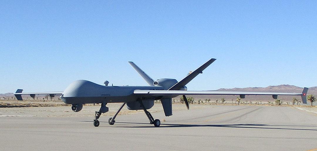 Amerykańska spółka General Atomics Aeronautical Systems opracowała zintegrowany zkadłubem bezzałogowca MQ-9 Reaper zasobnik CAB doprzenoszenia dodatkowego wyposażenia awioniki / Zdjęcie: GA-ASI
