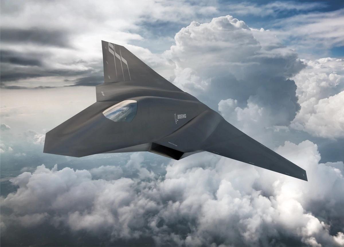 Zgodnie zopublikowanym zleceniem nauzbrojenie lotnicze dla USAF iUS Navy, dokońca 2029 roku może powstać samolot wielozadaniowych 6. generacji / Grafika: Boeing