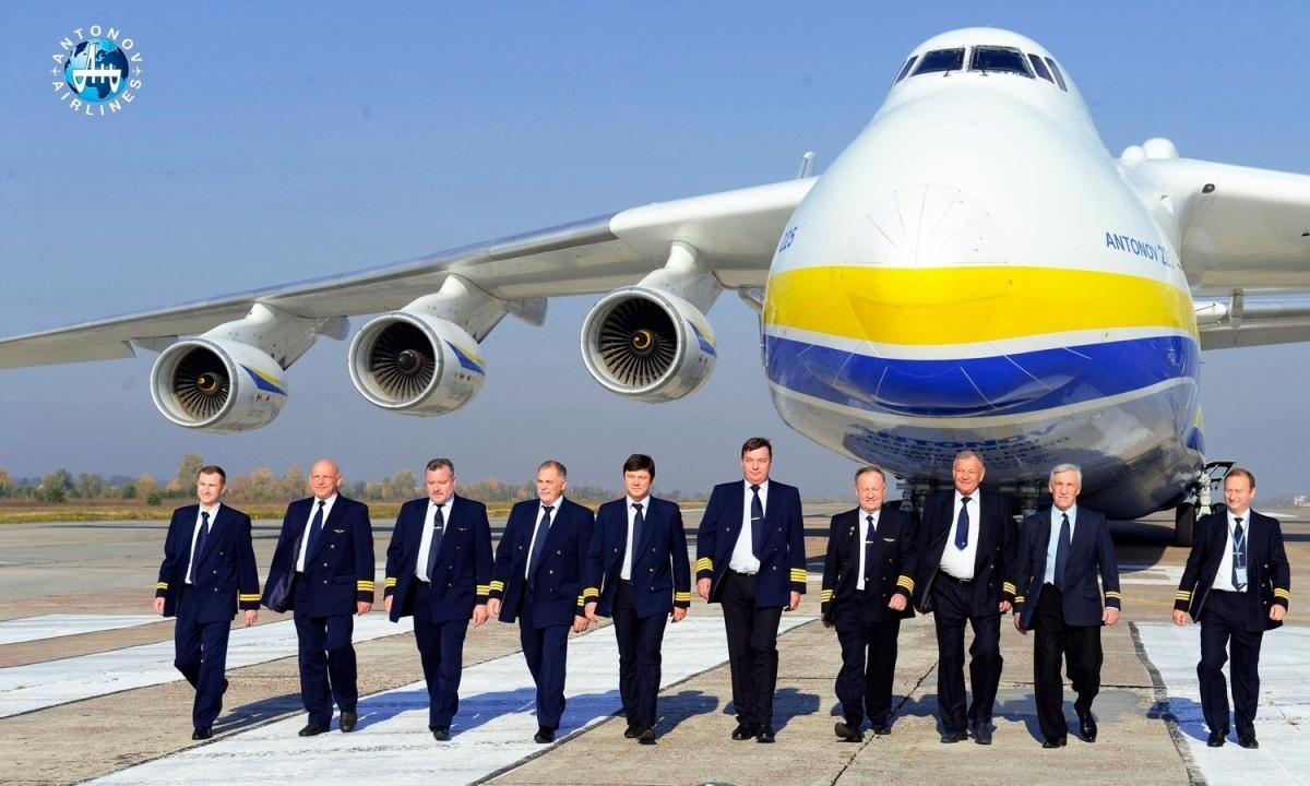 Szef Rady Bezpieczeństwa Narodowego iObrony Ukrainy poinformował oplanach nacjonalizacji spółki lotniczej Motor Sicz, wcelu zapobieżenia przejęcia jej przezchińskich inwestorów / Zdjęcie: Antonov Airlines