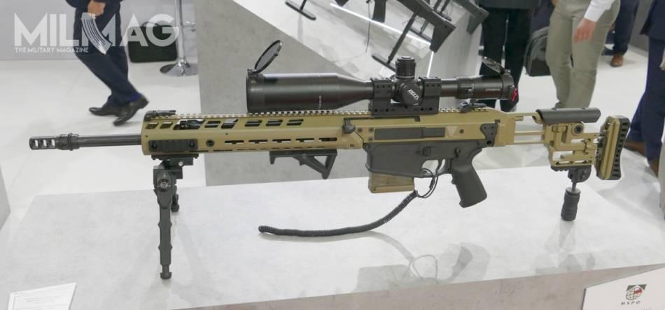 Inspektorat Uzbrojenia MON negocjuje z Fabryką Broni Łucznik-Radom dostawy 7,62-mm samopowtarzalnych karabinów wyborowych MSBS-7,62N. Na zdjęciu najnowsza odmiana tej konstrukcji z lufą 508-mm z serii prototypowej pokazana na targach MSPO we wrześniu 2019. Nowa broń ma zastąpić radzieckie SWD używane w Wojsku Polskim